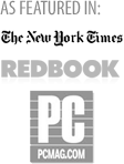 Featured in: New York Times, Redbook, PC Magazine